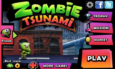 Скачать зомби цунами.