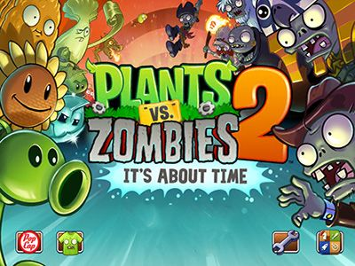Скриншот игры Plants vs. Zombies: It's about time